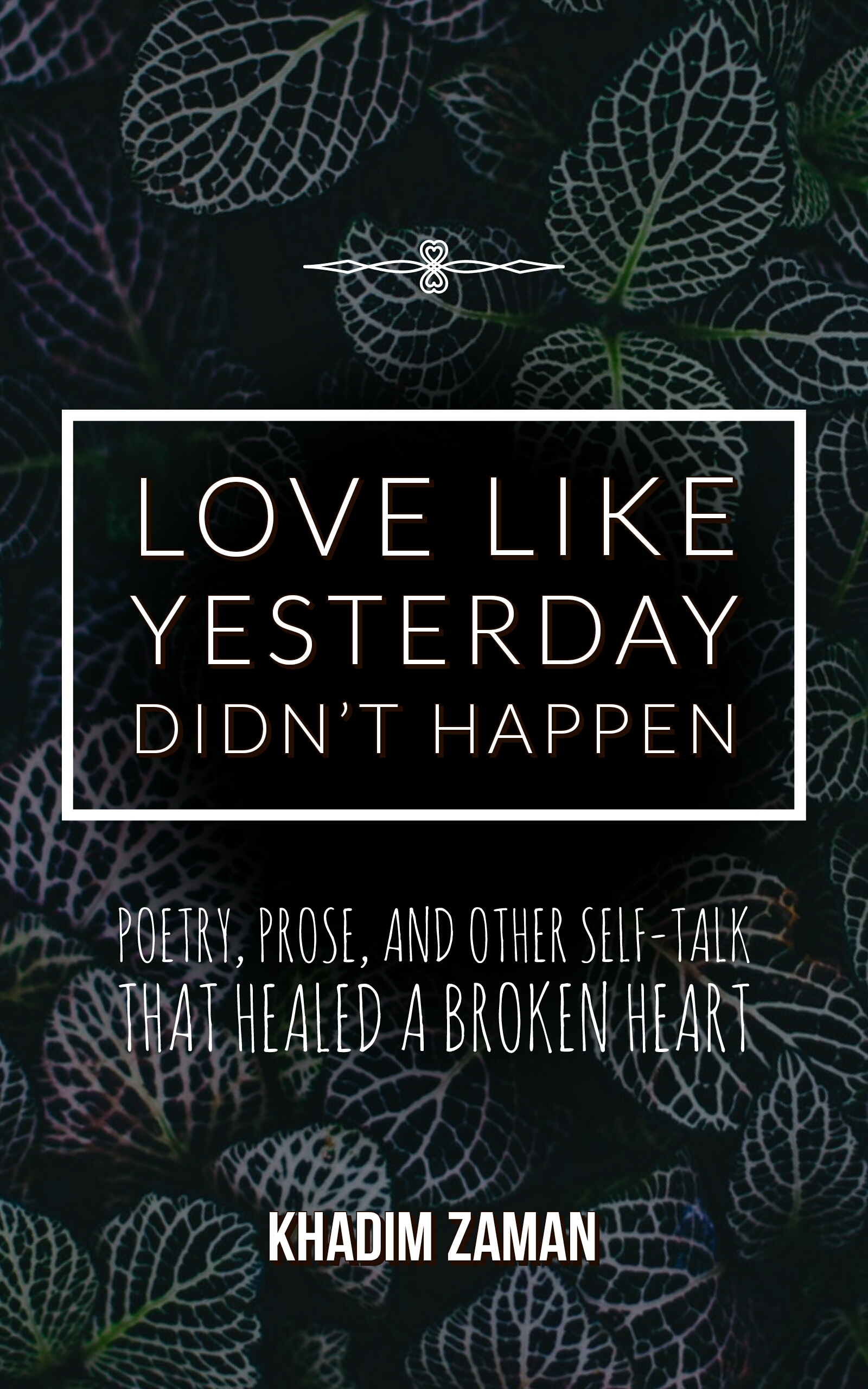 Book Cover: Love Like Yesterday Didn't Happen, by Khadim Zaman